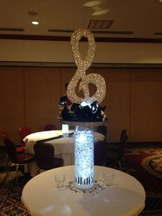 Image result for microphone  centerpieces