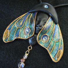 TABOUQ Art Nouveau Butterfly Pendant Necklace | Flickr - Photo ...