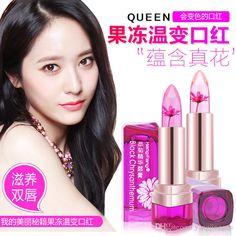 2016 New Sale Maquiagem 5790 Authentic Constant Aromatic Black Chrysanthemum Extract Jelly Temperature Lipstick Lip Balm Gradient Bite Lips Best Makeup Brands Cosmetics Online From Yangjingguo, $1.84| Dhgate.Com