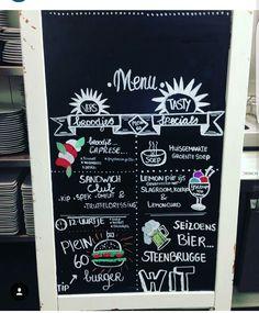 #handlettering #bord #horeca #idee #coffee #food #mood