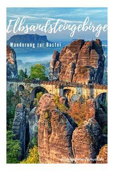 Tipps zu Ausgangspunkt, Route und Hotel für die leichte Wanderung zur Basteibrücke im Elbsandsteingebirge. #Elbsandsteingebirge #Bastei #Basteibrücke #Basteiwanderung #Wandern #WandernElbsandsteingebirge #SächsischeSchweiz