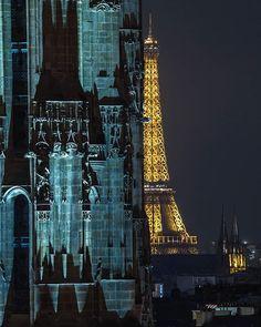 No alt text provided for this image Tour Saint Jacques, Paris Architecture, Cities In Europe, Paris Photos, Tour Eiffel, Cool Photos, Amazing Photos, Empire State Building, Big Ben