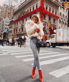 The Latest Fashion Trends & Outfit Ideas! Casual Winter Outfits, Winter Fashion Outfits, Look Fashion, Autumn Winter Fashion, Trendy Outfits, Fall Outfits, New York Winter Fashion, Fashion Brand, New York Outfits