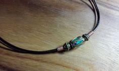 Mens Tribal necklace Mens surfer necklace brass by OriginalArtt