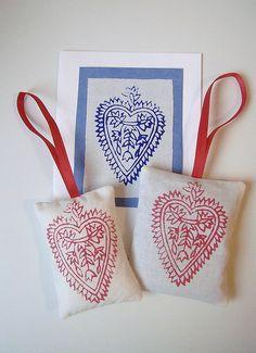 Indian wood block prints