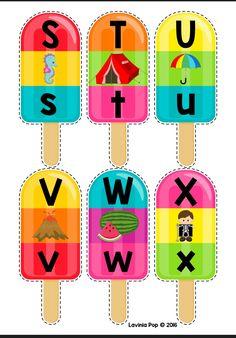Montessori Activities, Alphabet Activities, Preschool Worksheets, Alphabet Sounds, Alphabet Book, Math Literacy, Literacy Centers, Theme Carnaval, Beginning Sounds
