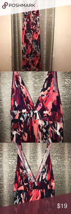 Maxi dress Xs colorful maxi. Super soft and feminine. Dresses Maxi