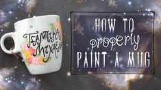 How-to Properly Paint Mugs - YouTube