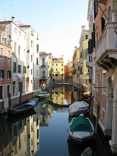 "Venice, Italy's ""backroads"""