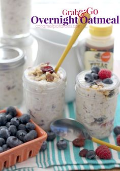 Grab and Go:  Overnight Oatmeal