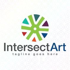 Exclusive Customizable Logo For Sale: Intersect Art | StockLogos.com