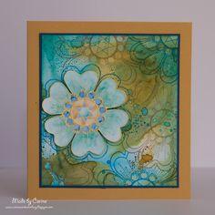 Corine's Art Gallery: Golden Diamant Flower