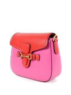 Gucci: shoulder bags online - Lady Web leather shoulder bag
