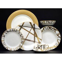 Sushi, Soup Plating, Kelly Wearstler, Fine Linens, Dinner Sets, China Patterns, Salad Plates, White Porcelain, Dinner Plates