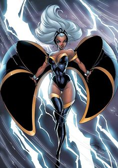 Storm, by J. Scott Campbell