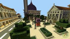 Minecraft Mosque and Curch #park #minecraft #harmony #mosque #masjid #chapel #curch