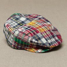 plaid driving caps