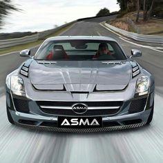 Mercedes SLS tuning ASMA