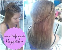 My Life as Foteini ♥: Outfit and Hairstyle for my Godmother's Wedding ♡