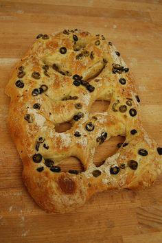 Fougasse aux olives de la boulangerie artisanale RESTEZ!