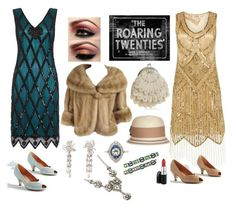 """Roaring 20's - Glitz and Glam"" by bee4735 on Polyvore"