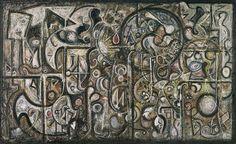 Richard Pousette-Dart: Symphony No. 1, The Transcendental (1996.367) | Heilbrunn Timeline of Art History | The Metropolitan Museum of Art