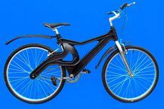 A bicicleta Muzzicycles, uma invenção ecologicamente correta do artista plástico uruguaio Juan Muzzi, radicado no Brasil. Feita com a matéria-prima da garrafa PET, é mais resistente, flexível, anti-ferrugem e fruto da reciclagem.