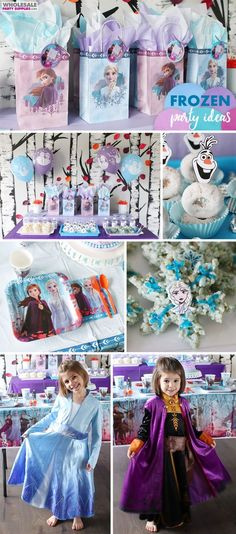 Frozen Party Ideas | Party Ideas & Activities by Wholesale Party Supplies