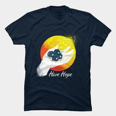 T-shirt designed for Design By Humans Haiyan (Yolanda) Relief Collective Store. 100% of net proceeds will be donated to the American Red Cross typhoon appeal fund. Buy this shirt here: http://www.designbyhumans.com/shop/men/have-hope-by-pigboom/18025/