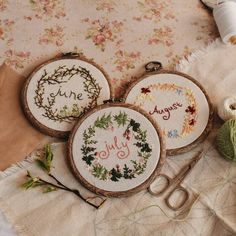 3,214 вподобань, 35 коментарів – Ellen Tyn (@liskin_dol) в Instagram: «These embroidered wreaths for summer months are available on foxychest.etsy.com:) I think of summer…»