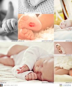 Love the lipstick on the foot. Baby Photography