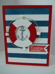 Nautical birthday by mypaperscraps - Cards and Paper Crafts at Splitcoaststampers