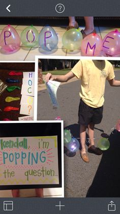 Cute way to ask someone to homecoming or prom!