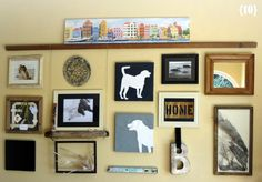 My Sister's Suitcase: 12 Ways to Create a Gallery Wall