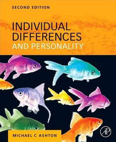 Individual Differences And Personality 2nd EditionAuthor By Michael C Ashton AuthorISBN