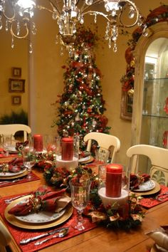 My Christmas Dining Room