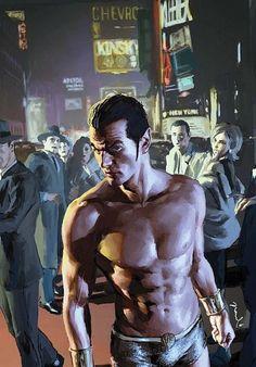 Namor McKenzie/Powers-Aquatic Adaption, Longevity, Flight, Superhuman Strength, Durability, Speed, and Agility