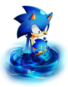 Sonic the Hedgehog images Sonic's swimming HD wallpaper and ...