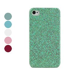Shining Lagging Style Protective Case for iPhone 4 and 4S (Assorted Colors) – USD $ 1.73