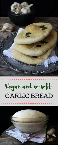 Vegan, soft and so delicious, this Garlic bread is ideal along with some veggies or yoghurt!