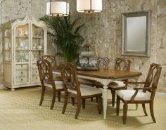 5-pc Provenance  Rectangular Leg Dining Table Set, A.R.T. Furniture, Provenance