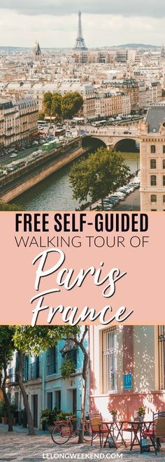 If you only have one day in Paris France, a self-guided walking tour can be a great way to see some of the best sights. We've created a free self-guided walking tour of Paris just for you! Walking tour of Paris | Paris Walking Tour | Free Paris Tour | One