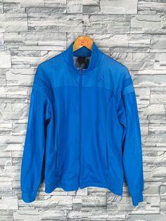 82df4da9a9d6 ADIDAS Jacket Windbreaker Mens Small Vintage 90 s Adidas Equipment Three  Stripes Track Top Sportswea