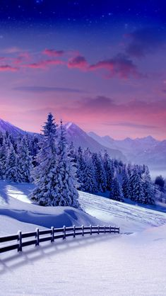 winter landscape - Winter iPhone wallpapers @mobile9