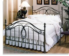 Beautiful Metal Bed Frame