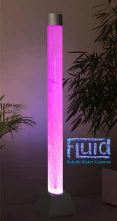 6ft / 183cm Bubble Tube Water Feature with Colour Changing LED Lights - Indoor and Outdoor Use   Turn your room into a kaleidoscope of sights with our bubble tubes.   This striking circular bubble column water feature with colour changing LED lights makes a spellbinding addi