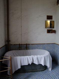 Bathroom in Chateau de Brézé