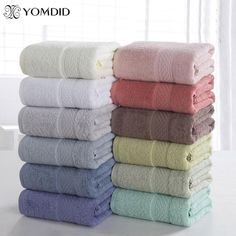 New Luxury Cotton Towels Soft Absorbent Bath Sheet Hand Bathroom Washcloth Beach. Cotton Solid Bath Towel Beach Towel For Adults Fast Drying Soft Thick High Absorbent Antibacterial.
