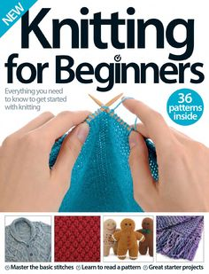 Knitting for beginners by Pennie Annie