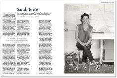 Sarah Price Landscapes » Press